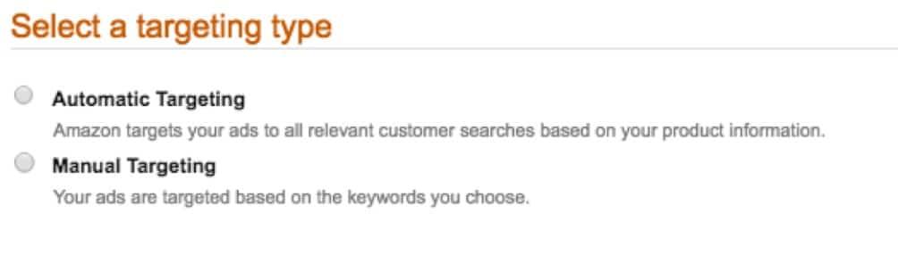 Amazon targeting