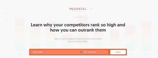 Hoe hoog sta ik in Google met Neil Patel